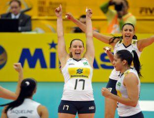 Fabíola - jogadora seleção brasileira de vôlei