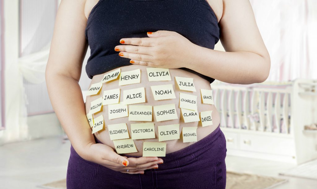 opções de nomes de bebê