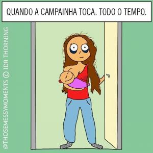 mamães cansadas