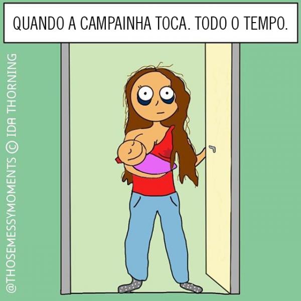 Rotina das mães
