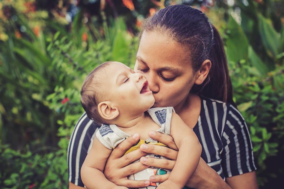 sessão de fotos bebes com microcefalia