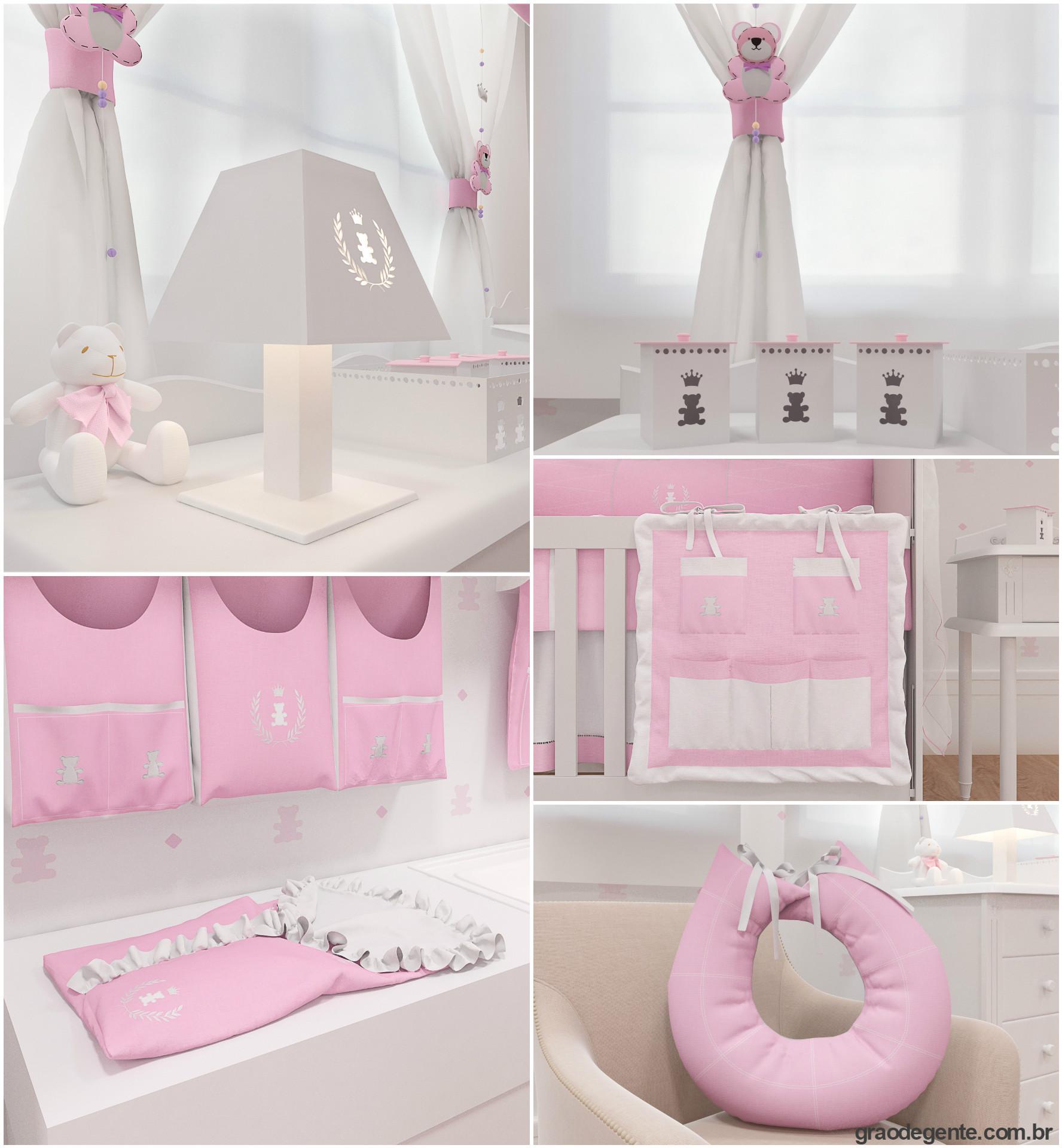 Coleção Realeza Rosa Premium
