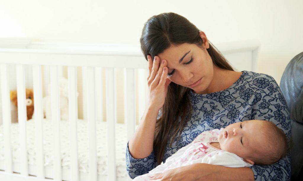 mãe com depressao pós-parto