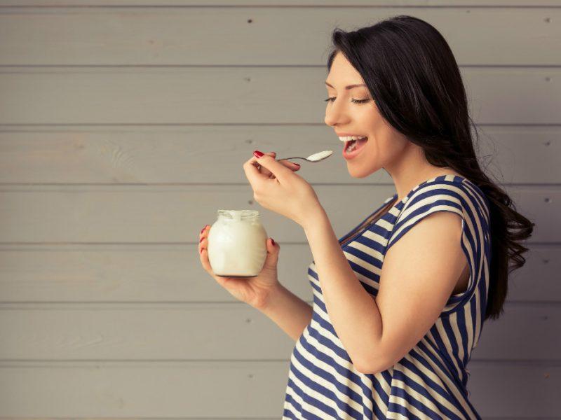grávida e probióticos
