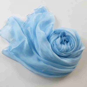 elegant-new-silk-scarf-solid-color-smooth-light-chiffon-scarf-pure-font-b-blue-b-font