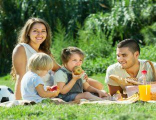 lanches leves e saudáveis para passeios com as crianças