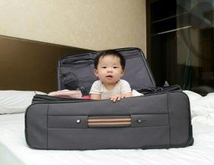 dicas para viajar com o bebê