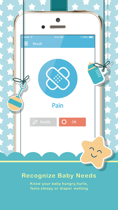 aplicativo promete desvendar o choro do bebê