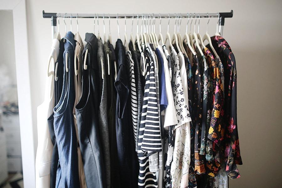 armário moda gestante