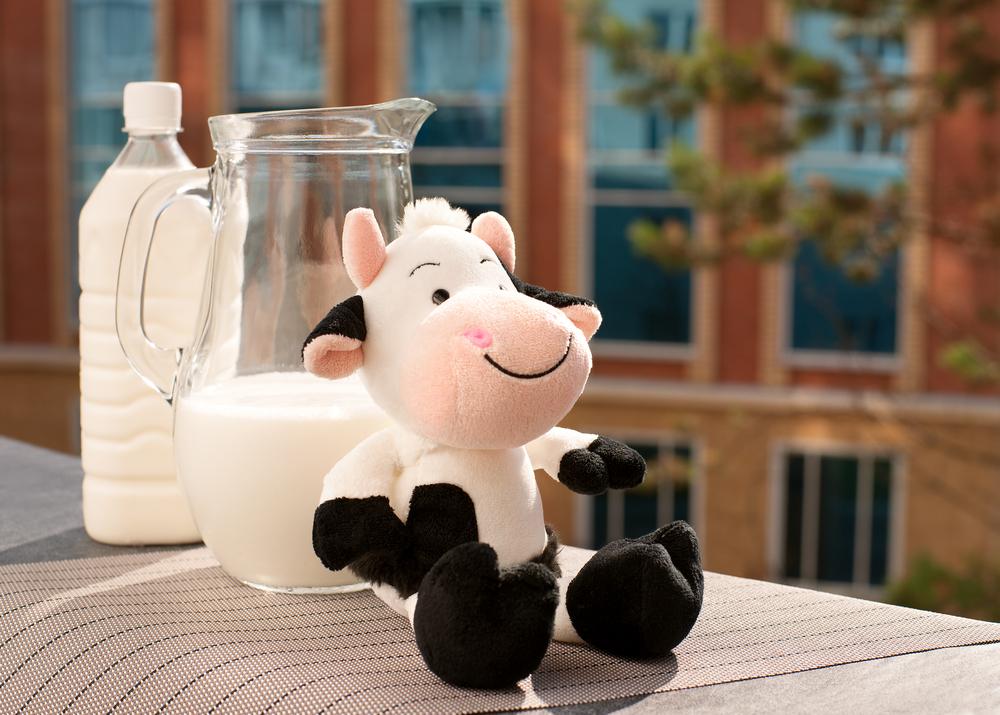 leite para o bebê