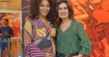 Juliana Alves e Fátima Bernardes