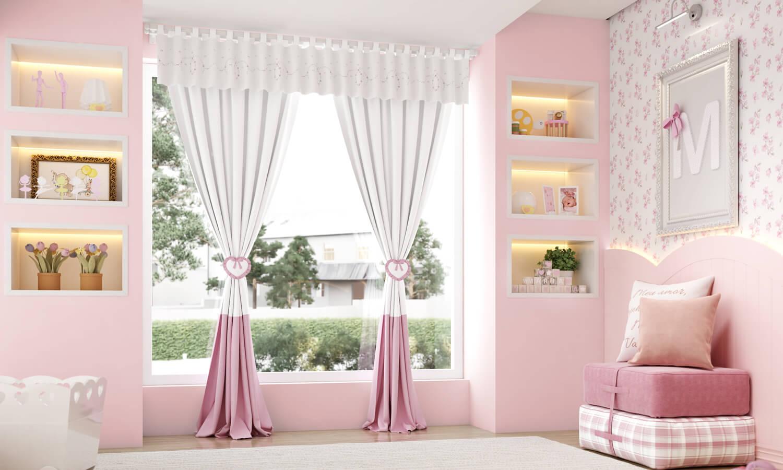 Quarto De Bebe Romantico Pictures to pin on Pinterest ~ Quarto Rosa Romantico