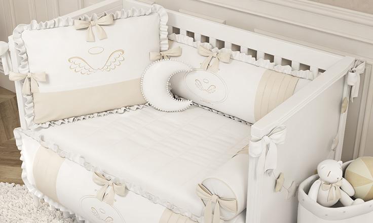 Kit Bebê Anjo traz delicadeza e conforto para o quarto dos sonhos do seu bebê