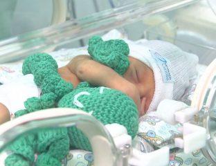 polvos de crochê prematuro na incubadora