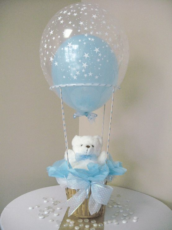 chá de bebê balões