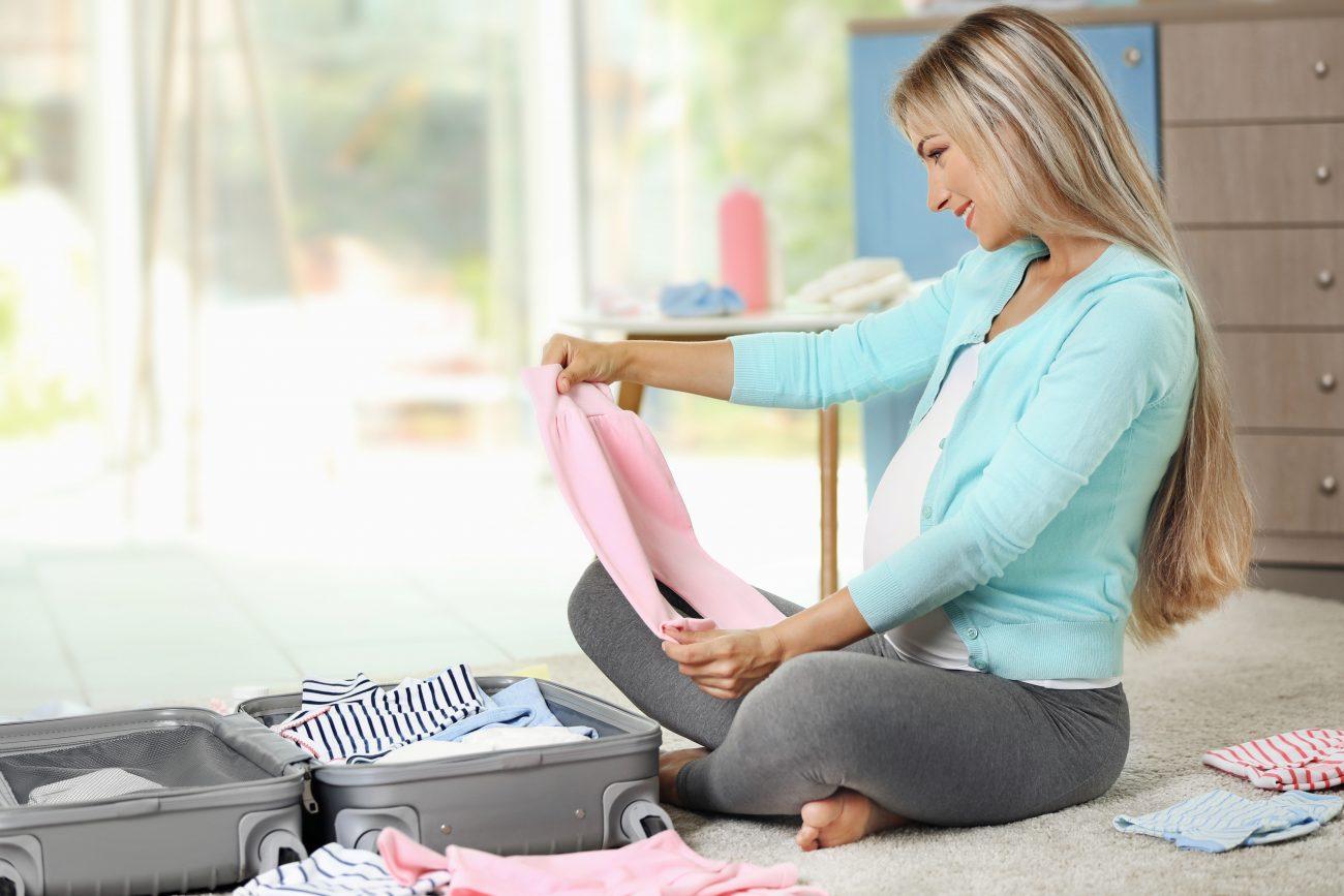 como arrumar a mala de maternidade no inverno