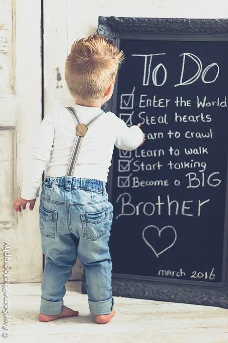anunciar a gravidez irmão mais velho