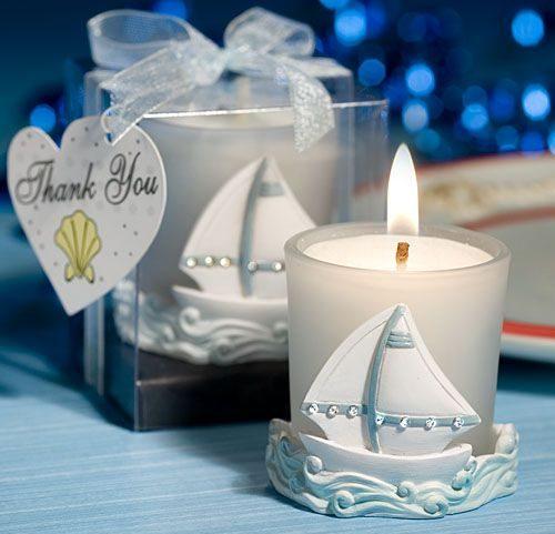 lembrancinha de maternidade vela perfumada
