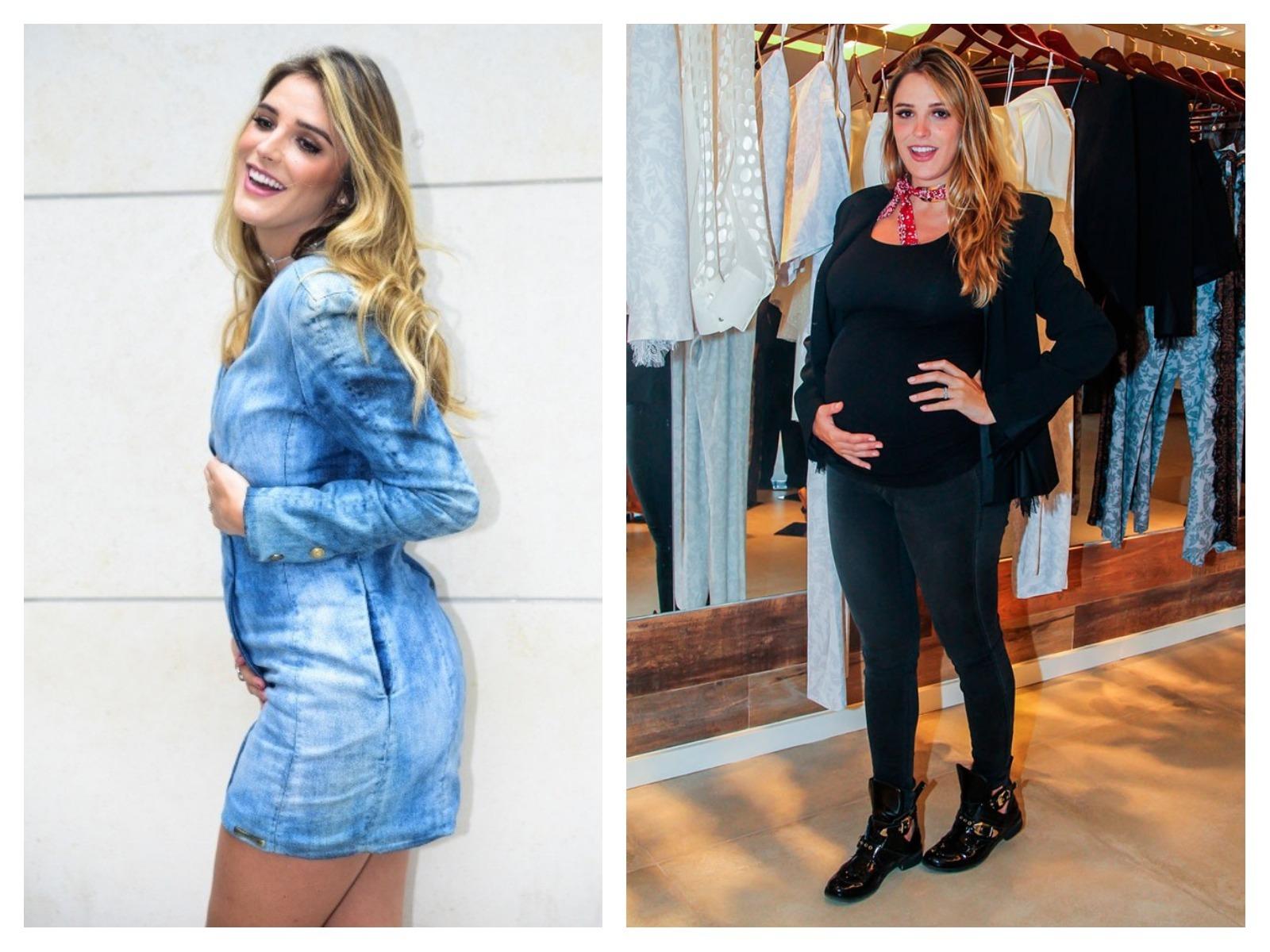 Moda para grávidas: Rafa Brites