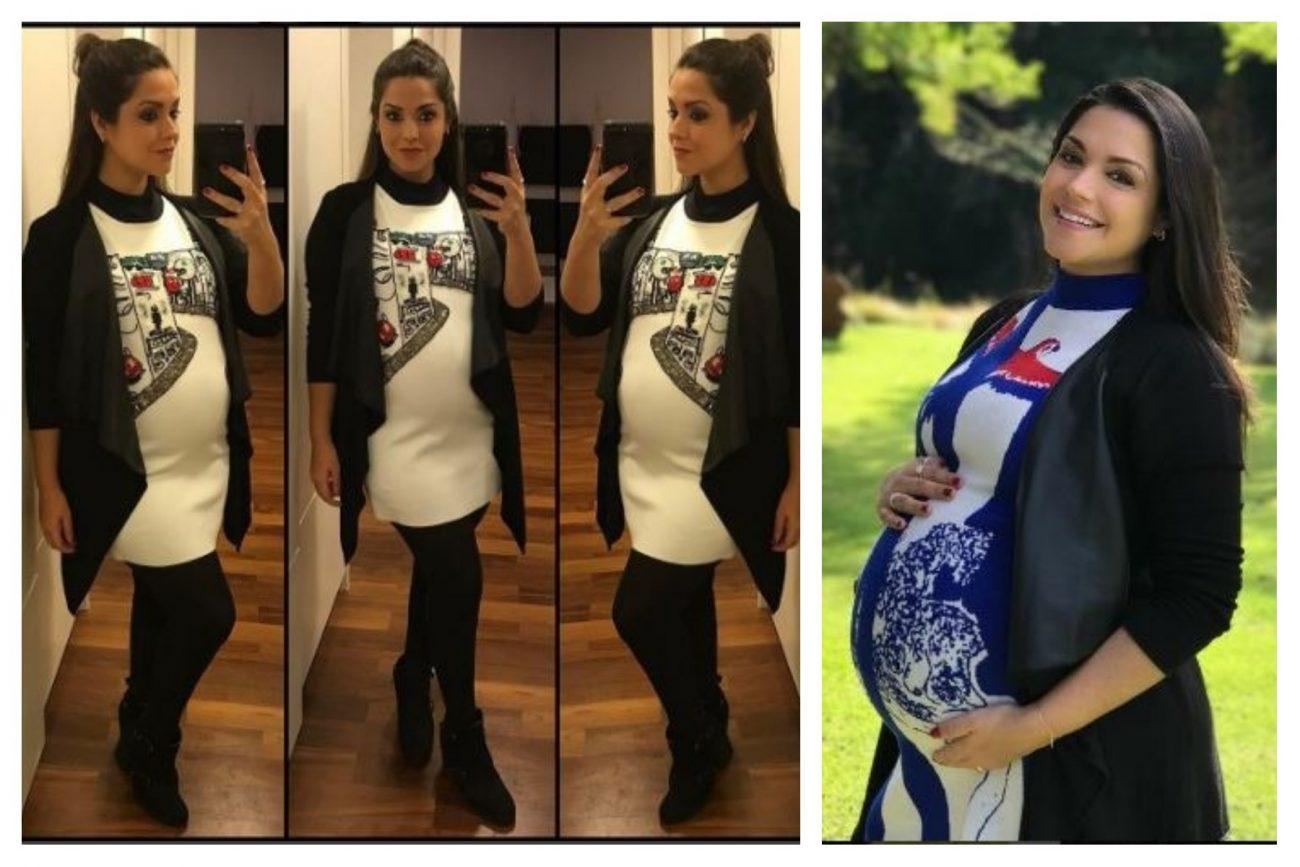 Moda para grávidas: Thaís Fersoza