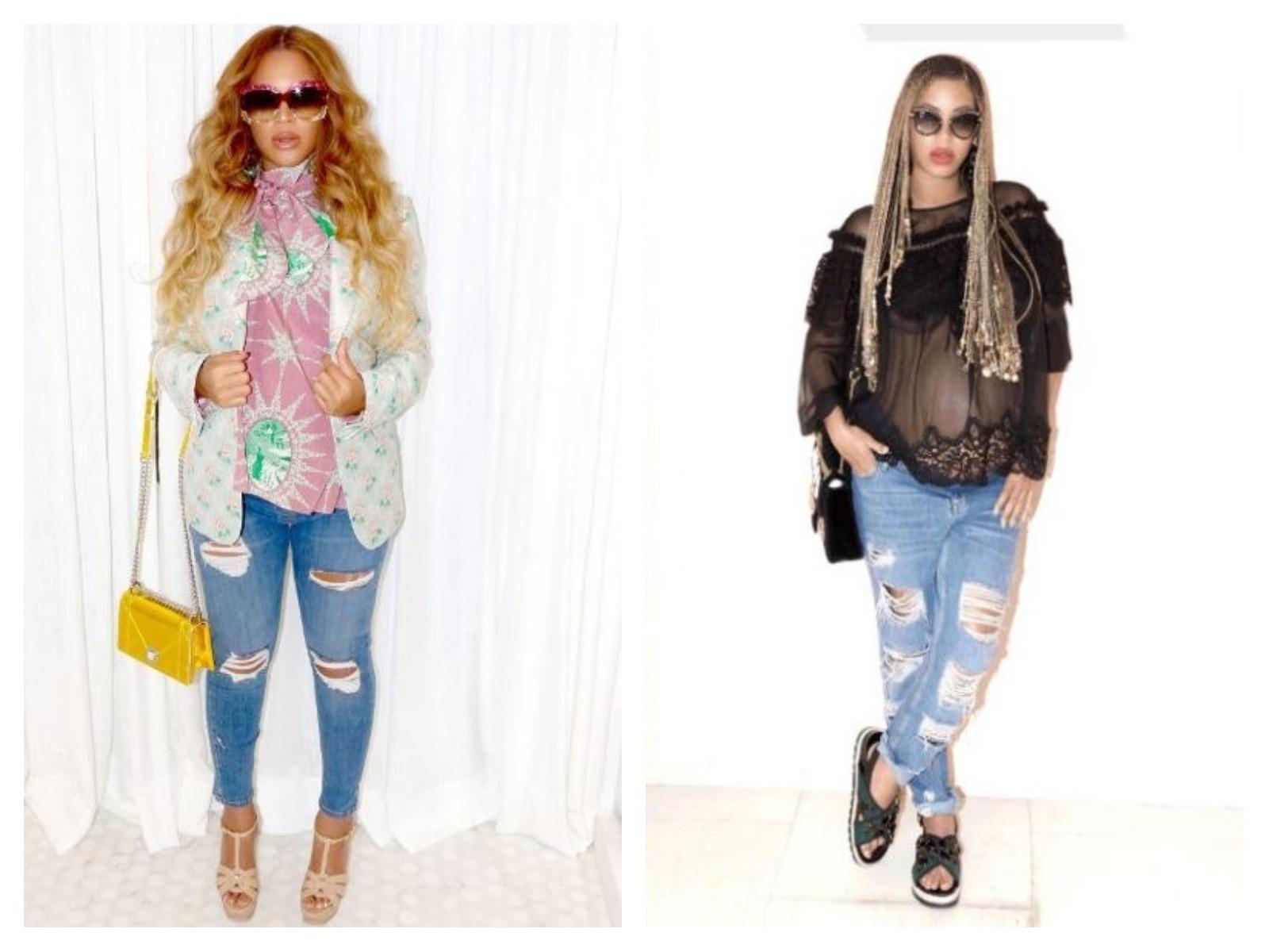 Moda para grávidas: Beyoncé