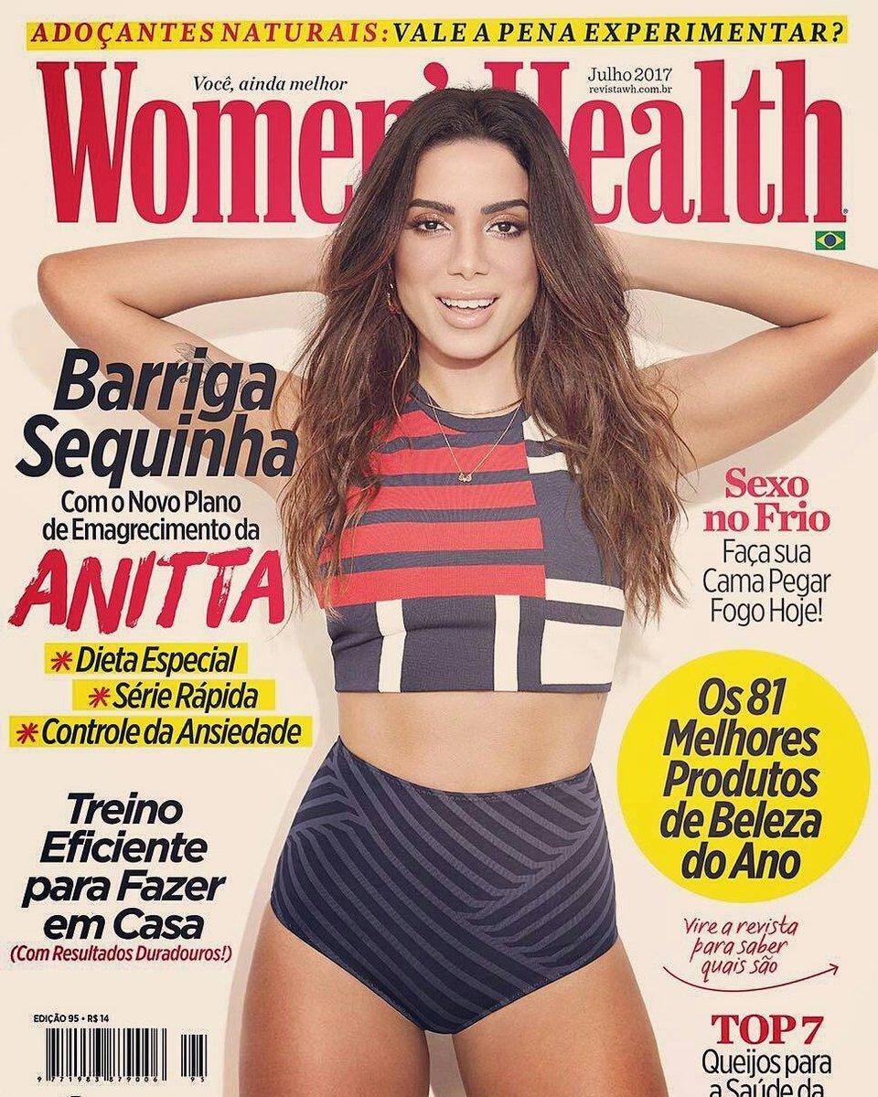 Anitta na capa da Women's Health