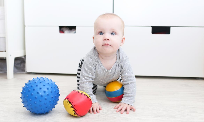 Atividades para bebês: bolas