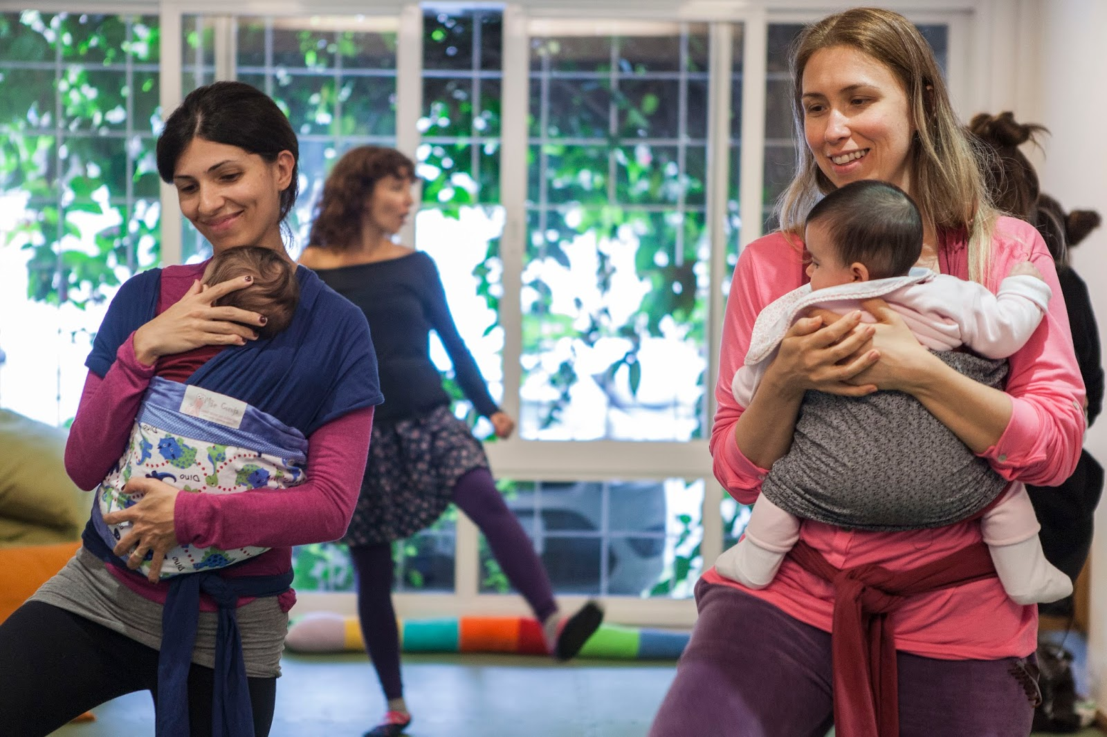 Atividades para bebês: dança materna