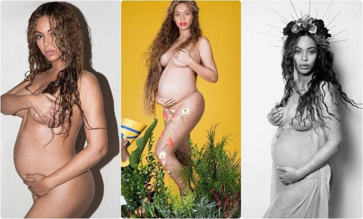 Sensualidade na gravidez: Beyoncé