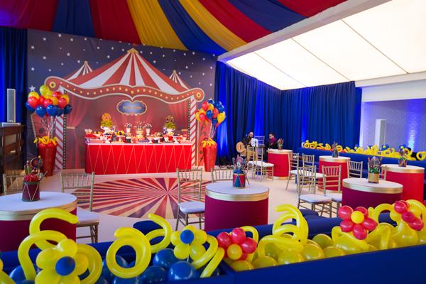 festa de 1 ano circo