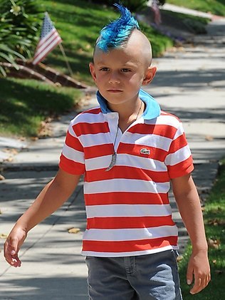 Pintar cabelo de criança Kingston Rossdale