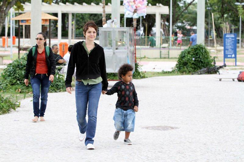 Famosos que adotaram: Drica Moraes