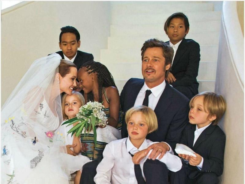 Famosos que adotaram: Família Jolie