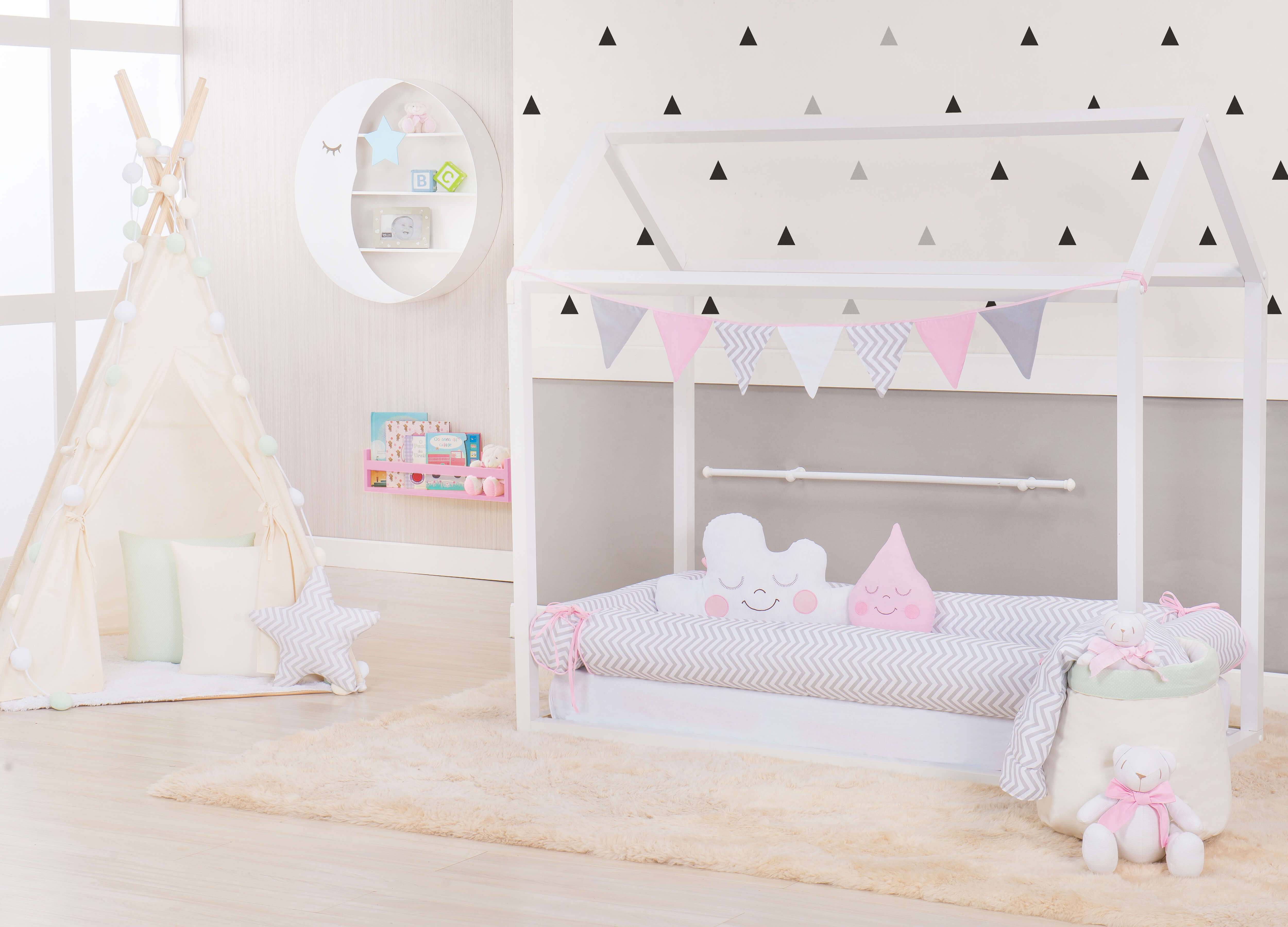 Como montar um quarto montessoriano?  Quarto para bebê