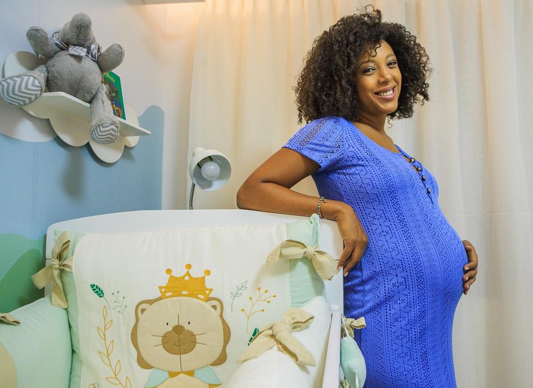 Negra Li: quarto de bebê do Noah