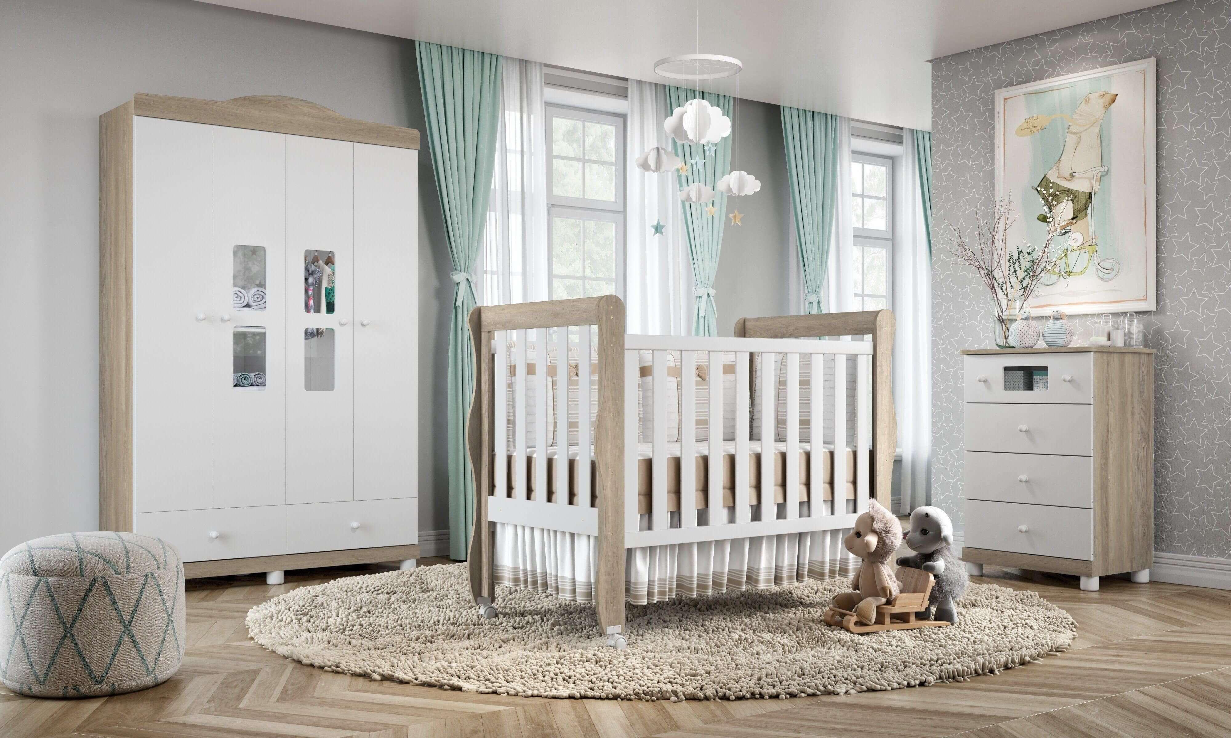 guia de decoração do quarto do bebê