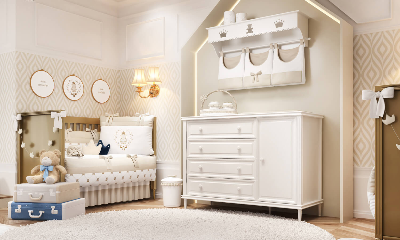 decoração de quarto de gêmeos