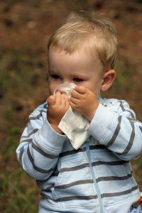 crianças alérgicas
