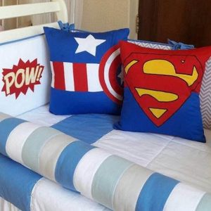 kit berço super-heróis