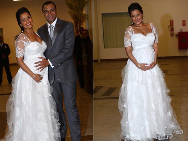 famosas que casaram grávidas