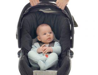 carregar o bebê conforto