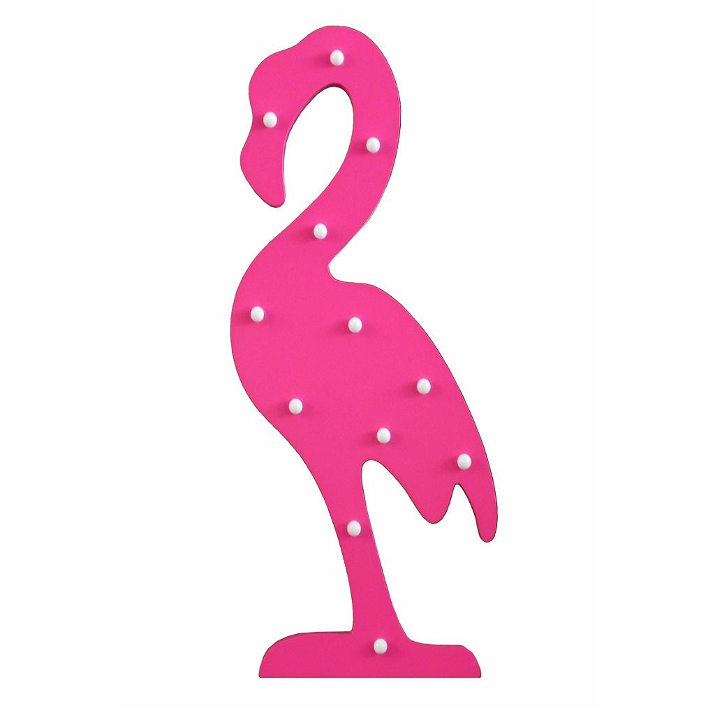 quarto de bebê com flamingos