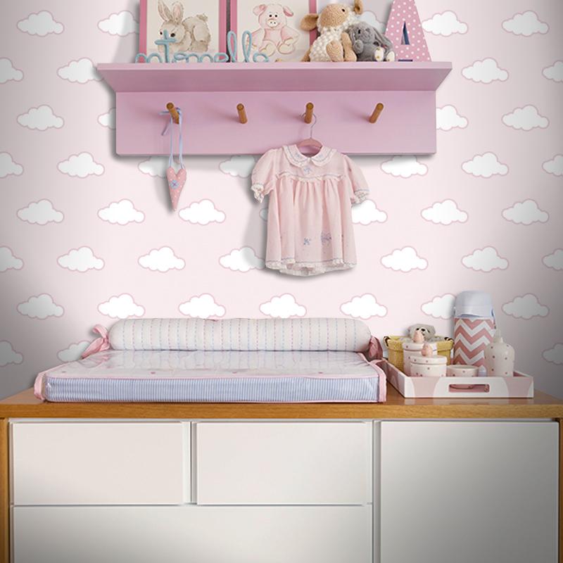 Artesanato Folclore Regiao Nordeste ~ Fofura no ar quarto de beb u00ea com nuvens