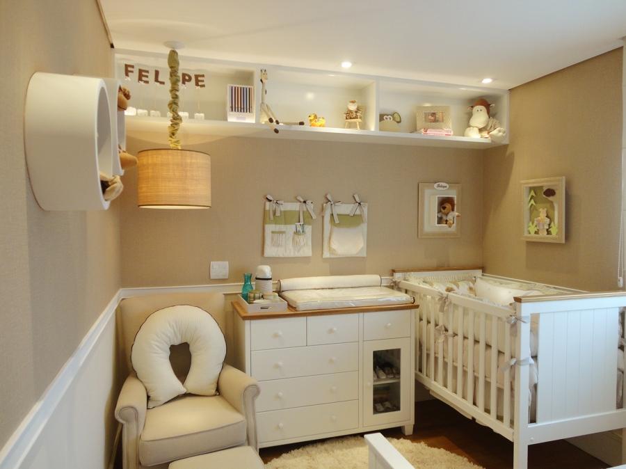 Armario De Parede Para Quarto De Bebe : Decora??o funcional prateleiras e nichos no quarto do beb?