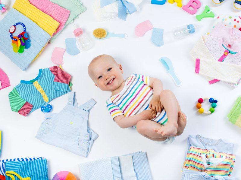 glossário de itens essenciais para bebê