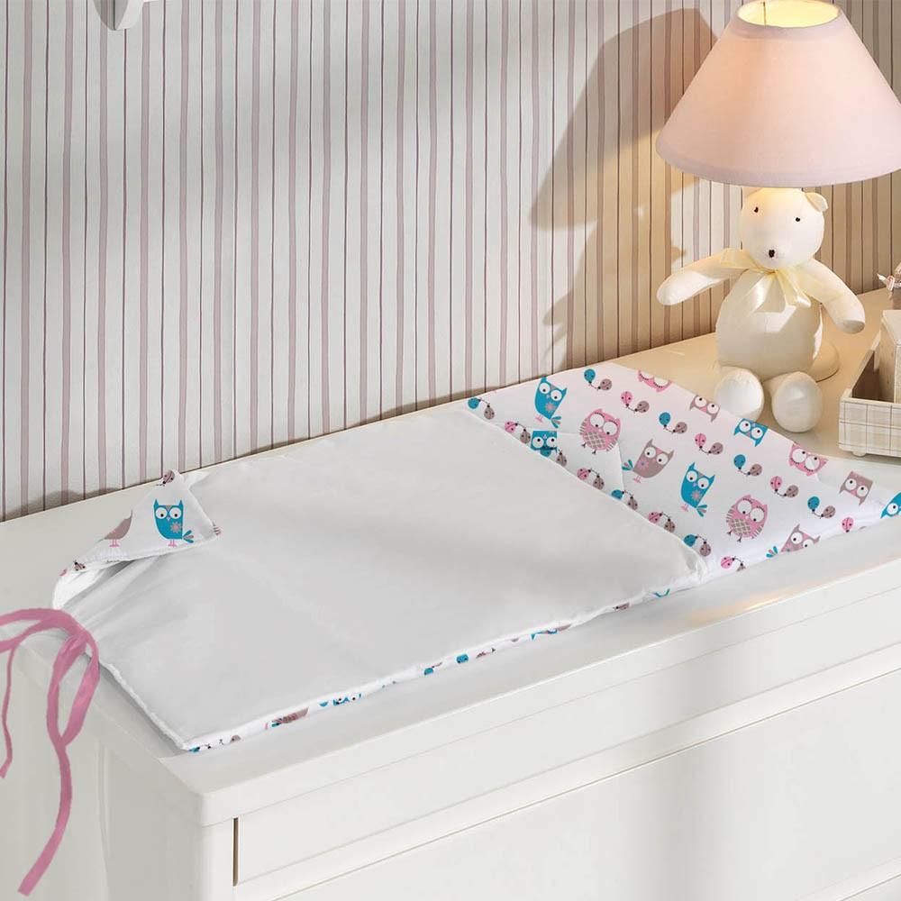 corujas na decoração do quarto do bebê