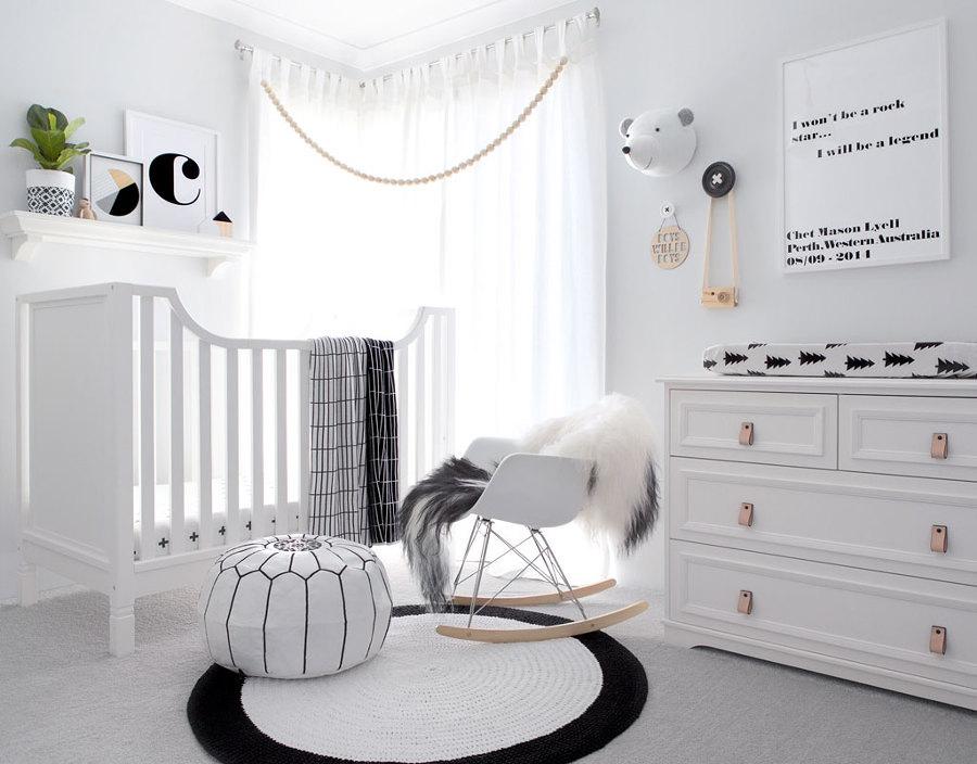 Resultado de imagem para quarto de bebe Estilo minimalista