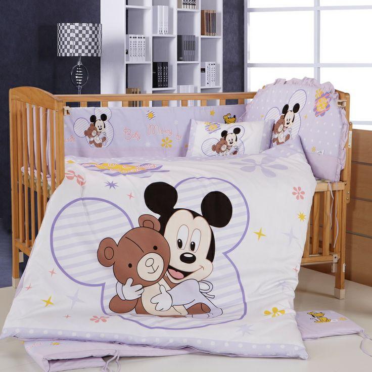 quarto de beb mickey ideias para a decora o. Black Bedroom Furniture Sets. Home Design Ideas