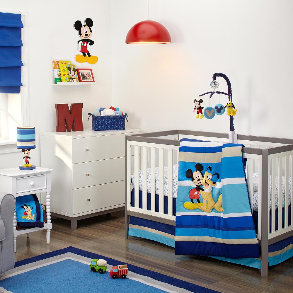 Quarto De Beb Mickey Ideias Para A Decora O  ~ Decoração De Quarto De Bb Masculino