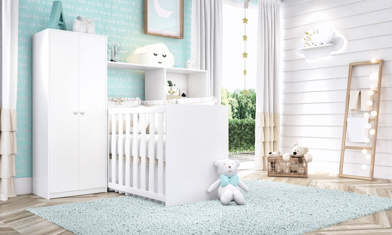 Quarto De Beb Pequeno Invista Em M Veis Multifuncionais  ~ Decoração De Quarto De Bebe Em Apartamento Pequeno